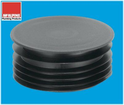 """110mm 4"""" Soil Pipe Fitting Blanking Cap Stop End"""