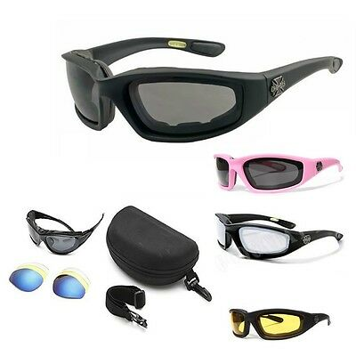 Chopper Wind Resistant Sunglasses Extreme Sports / Motorcycle Riding Glasses h