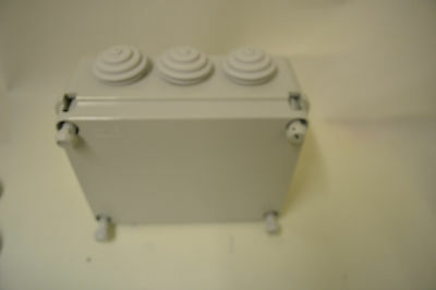 IP55 WATERPROOF ELECTRIC ENCLOSURES,  ADAPTABLE BOX GLANDED 310x230x130mm