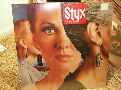 Styx Lp Factory Sealed Pieces Of Eight W/hype Sticker 1978 Tommy Shaw