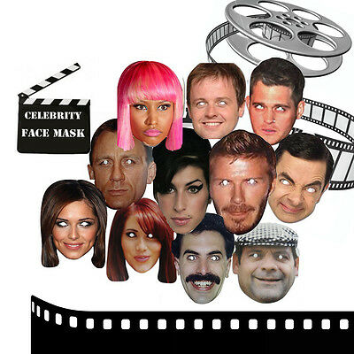 Masks Celebrity Face Party Mask HenDo Stag Night Christmas Costume Dress Parties