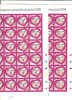 Timbres France  Autoadhesif Yt N°266  67  En Feuille Cote € 330  Faciale € 50.40