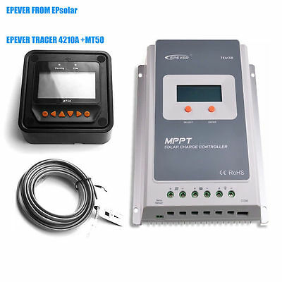 EPEVER Tracer 4210A  Solar Charge Controller 100V+ MT50 Replacement for 4210RN