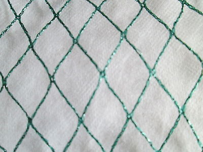 2M Width Anti Bird Green Garden Pond Netting Protection For Fruit Crops & Ponds