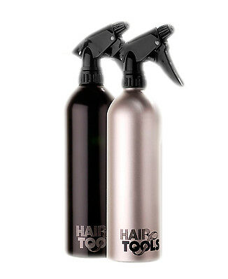 Hair Tools Professional Hairdressing Large Black Silver Water Spray Can