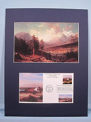 Long's Peak at Rocky Mountain State Park by Albert Bierstadt & First Day Cover