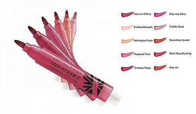 Rimmel Lasting Finish 1000 Kisses Lip Tint + Balm # You Choose Color