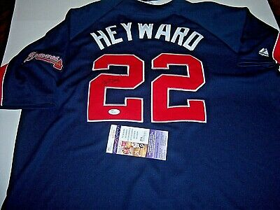 7c637db32 JASON HEYWARD ATLANTA Braves Jsa coa Signed Jersey -  200.00