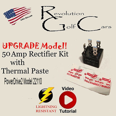 50 amp rectifier for club car battery charger repair, 22110
