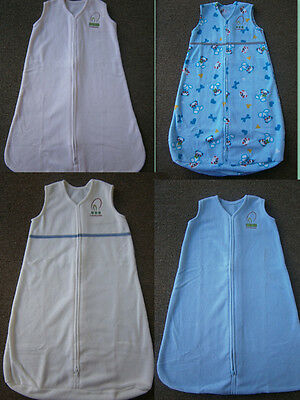NEW FLEECE Baby UNISEX Sleeping Bag 0-6 mths  Each piece $4