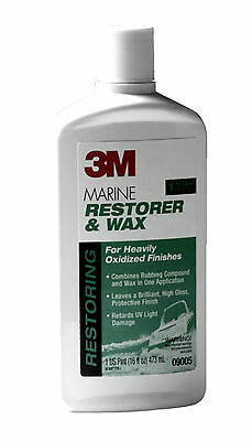 18-ounce Paste Adhesives, Sealants & Tapes Bright 3m 09019 Marine Metal Restorer And Polish Liquid Glues & Cements