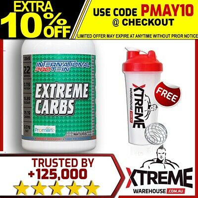International Protein Extreme Carbs 1.8Kg Natural // Carbohydrate Waxy Maize