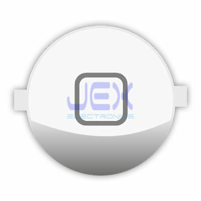 High Quality Gloss White Home Button for iPhone 3G/3GS/4/4G 8GB/16GB/32GB