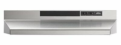 "Broan 413004 30"" Stainless Steel Undercabinet Range Hood Non-Ducted 2 Speed"