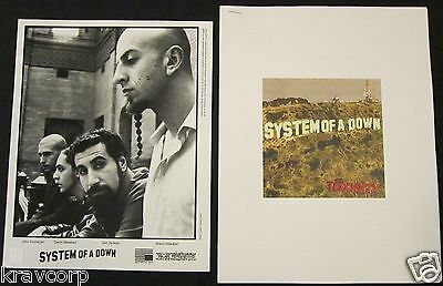 System Of A Down 'Toxicity' 2001 Press Kit--Photo