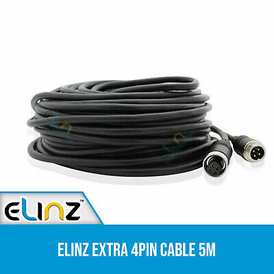 Advanced 5M 4 Pin Cable for CCD Reversing Camera