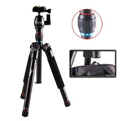 QUALITY LIGHTWEIGHT ALUMINUM PORTABLE TRAVELER BALL HEAD TRIPOD FOR DSLR CAMERA