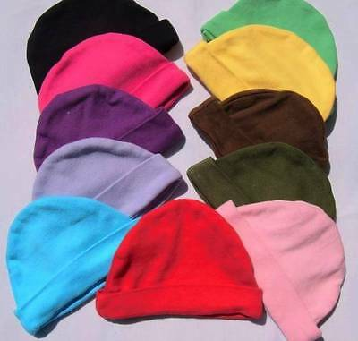 Funky coloured baby hats / baby shower / photo shoots