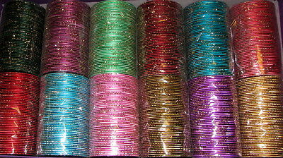 Indian Bollywood Belly Dance Party 75Mm Dia Bangles Hippy Gypsy Any Color 12 Pc