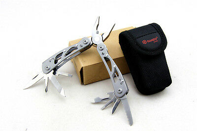 GANZO 2015S Multi Tool Pliers Knife Portable Outdoor Camping