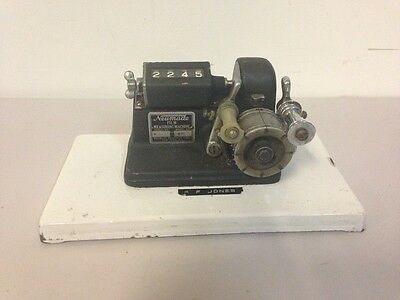 Vintage Neumade 35mm Motion Picture Footage Counter Model No. M37S