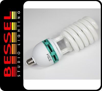 125W Low Energy Photographic Daylight Bulb 5400K ES27 fit Continuous Lighting
