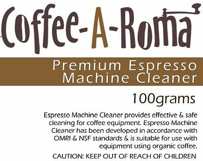 Coffee Machine Cleaner (Backflush) for Espresso Makers. Sold By Coffee-A-Roma!