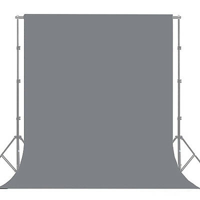 10X12ft Gray Screen Muslin Photo Backdrop Photography Background Solid Grey New