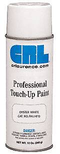 CRL Oyster White Powdercoat Professional Touch-Up Paint