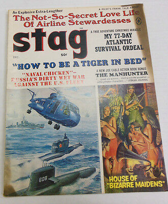 Stag Magazine How To Be A Tiger In Bed December 1968 NO ML 061013R