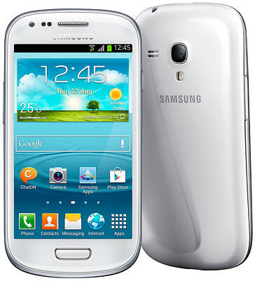 "SAMSUNG GALAXY S III MINI GT-I8190 8gb unlocked novathor 4.0"" android smartphone"