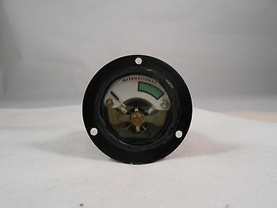 10050643-3 International Dc Ammeter   Meter  New Old Stock 1 1/4 ""