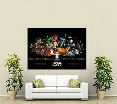 Star Wars Giant 1 Piece  Wall Art Poster TVF112