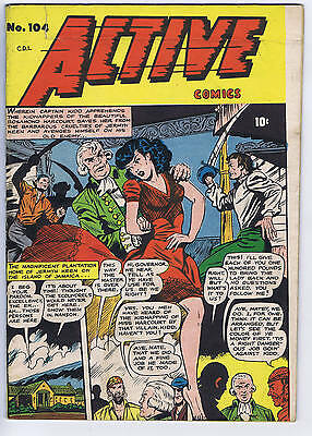 Active Comics #104 Bell Features CANADIAN EDITION