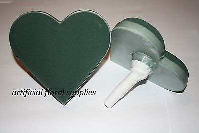 Lady Heart Wedding Bouquet Holder Oasis Ideal Floral Foam WET for fresh flowers