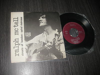 """Ralph Mc Tell Spanish 7"""" Streets Of London / Spiral Staircase"""