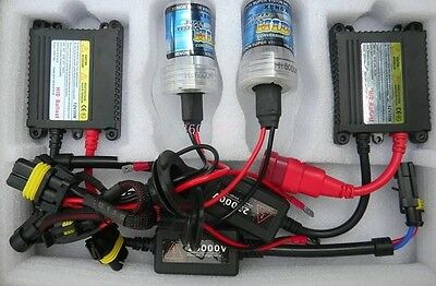 Hid H7 Xenon Light Conversion Kit Hid Slim 35W 8000K Bulbs