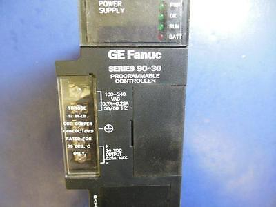GE Fanuc Series 90-30 Programmable Controller IC693PWR321AA Power Supply