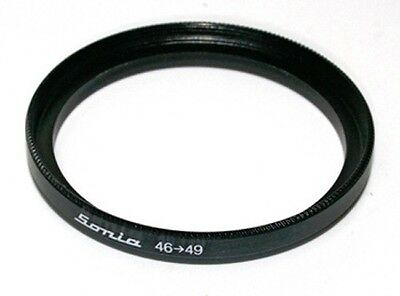 46mm to 49mm 46 49 Step Up Filter Ring Stepping Adapter