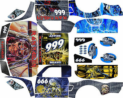 Losi 5ive T Music Themed  wrap decals stickers BIG FLEX ROVAN TEAM HOONAGE LOSI