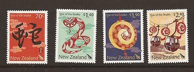 New Zealand 2013 Year of the Snake MNH