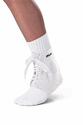Mueller Sports ATF2 Ankle Support & Self Adjustable Brace (Left/Right) - White