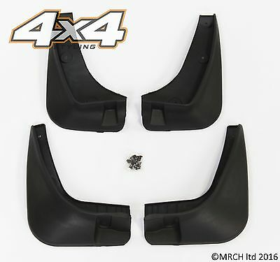 For Kia Sportage 2010 - 2014 Mud Guard Flaps - Set of 4 (front and back)