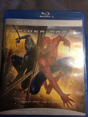 Spider Man 3 Blu Ray