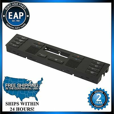 For 525I 530I 540I M5 X5 AC Heater Temperature Climate Control Button Panel Face