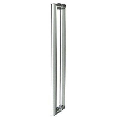 Delf Entrance Door Pull Handle PH265SS600P Back To Back SS 600mm Pair