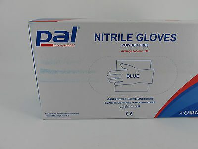 1000 x Extra Large Nitrile Blue Powder Free Disposable Gloves Cleaning Catering