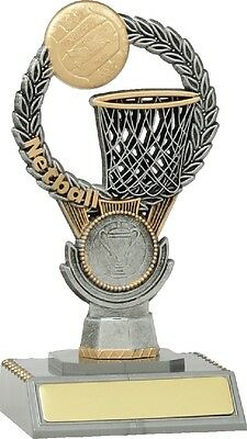 Netball Trophy 150mm Engraved FREE