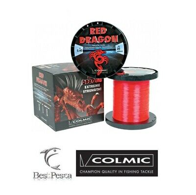 Filo da Traina - COLMIC RED DRAGON 600mt - 0.40 - 20 LBS