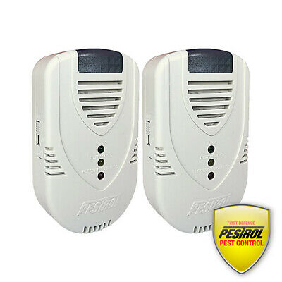 Pestrol Rodent Free 2 Pack - Remove pesky Mice and Rats! By Pestrol